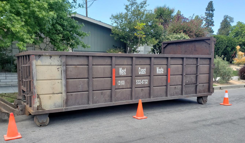 Dumpster Rental in Palos Verdes